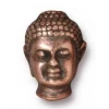 Bead Buddha Large Hole 13.5mm Antique Copper